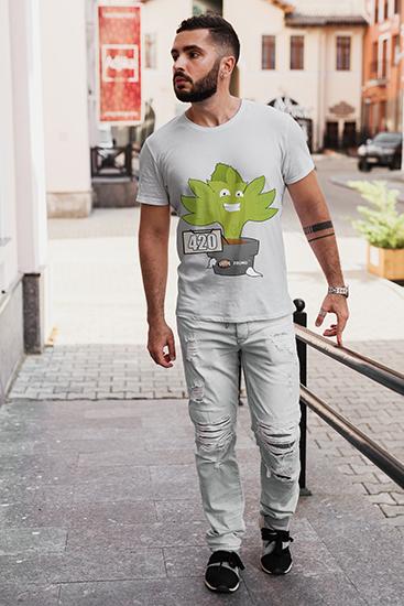 camiseta 420 modelo_hombre_camiseta_seedspromo